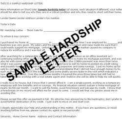 Sample Hardship Letter For Mortgage Modification from foreclosureiq.com